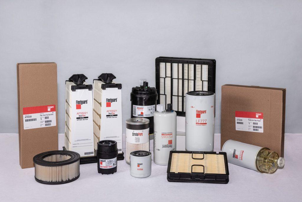 Fleetguard Filtersortiment